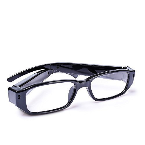 HD 720P Sport Video Camera Eyeglasses - Fashion Loop Video Recorder Action video Cameras Portable Digital Camcorder [ 8GB Included ]