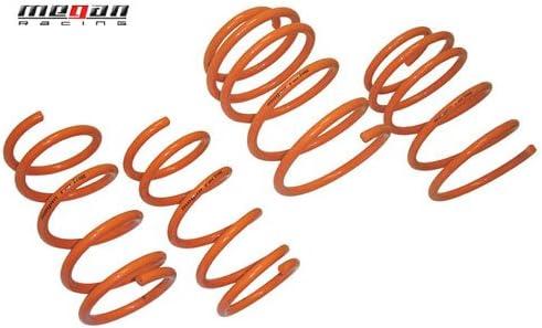 Megan Racing Lowering Lower Coil Springs Orange for Ford 97-01 Escort