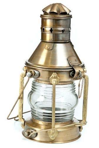 Nautical Brass Lantern by The Swarn