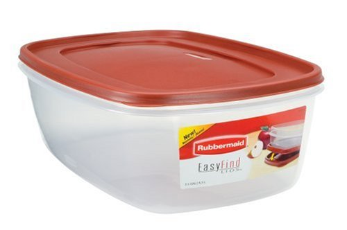 Rubbermaid Easy Find Lid Food Storage Container Bpa-Free Plastic 40 Cup/2.5 G.. 8