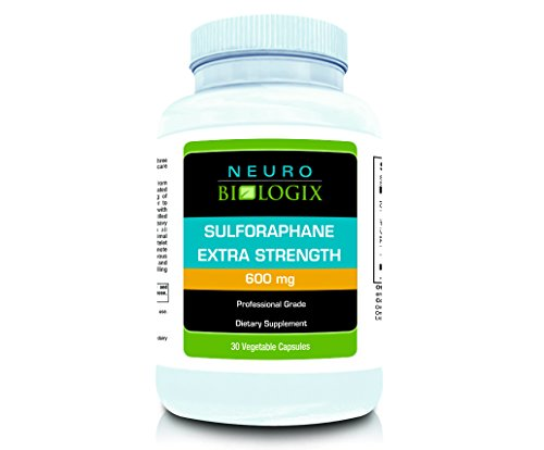 Neurobiologix Sulforaphane Extra Strength Detox Supplement (600 Milligrams - 30 Capsules)