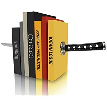 Amazon.com: MUSTARD Bookends metal for shelves I Storage