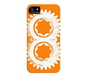 8th Gear iPhone 5/5s Apple Orange Barely There Phone Case - Design By Humans