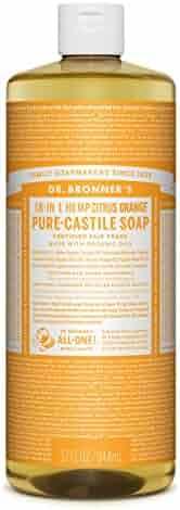 Dr. Bronner's Pure-Castile Liquid Soap - Citrus, 32oz.