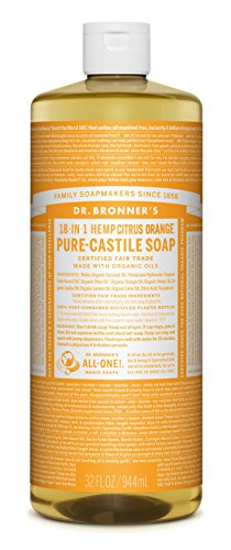 Dr. Bronner's Pure-Castile Liquid Soap - Citrus 32oz.