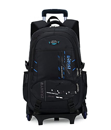 large backpack with wheels - 5
