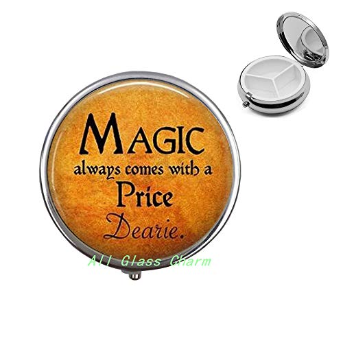 Halloween Costume Jewelry-Magic Always Comes with a Price Dearie-Quote-Magic Spell,AS098 -