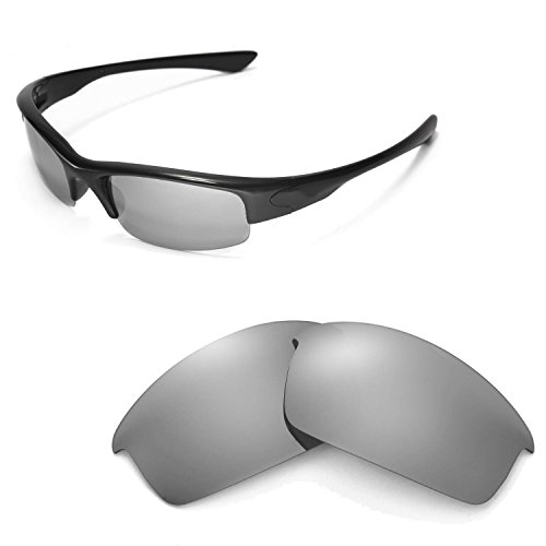 Walleva Replacement Lenses for Oakley Bottlecap Sunglasses -Multiple Options Available (Titanium Mirror Coated - - Polarized Bottlecap Lenses Replacement Oakley