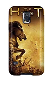 Awesome Clash Of The Titans Flip Case With Fashion Design For Galaxy S5