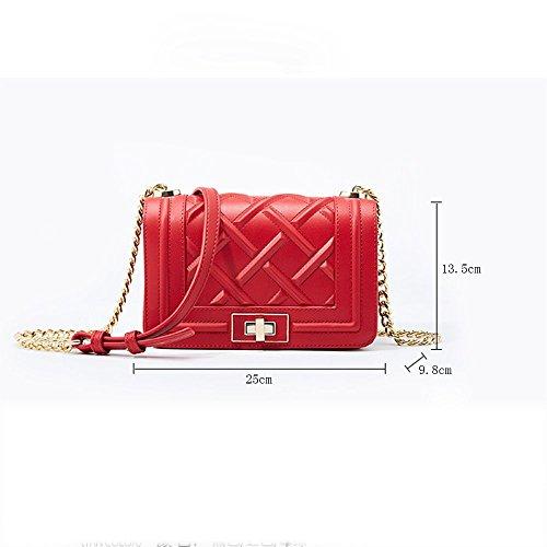 Multifunción Axiba Móvil Teléfono Oblicuo Hombro Bolsa Solo De Cruz Mujer Rojo ZxrUpqZwz