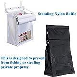 Indoor Wall Mount Mail Catcher Bag Door Slot Post