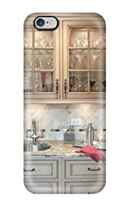 Durable Protector With Contemporary Wet Bar Separating Dining Room And Kitchen Hot Design For Case Cover For Apple Iphone 4/4S (3D PC Soft Case)