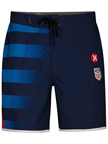 Hurley Men's Phantom USA Away 18 Midnight Navy 32 from Hurley