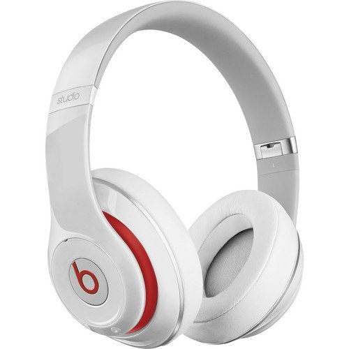 Beats Studio Wireless Over- Ear Headphone -White (Renewed)
