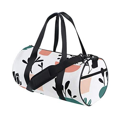 (Totes Casual Succulent Plants Green Weekender Bag Comfortable Fitness Duffel Bag For Gym Rats Dancer Fitness Bag Gym Run Climbing School Bag)