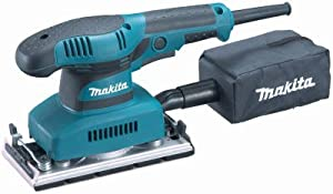 Makita Usa Bo3710 Finishing Sander, With Dust Collection, 10,000 Opm Finish & Palm Sander by Makita Usa