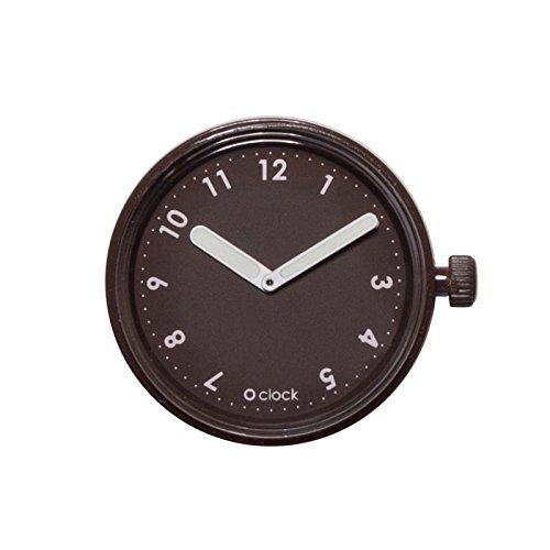 Full Spot o clock Caja Números chocolate mec.NSN - Reloj de pulsera unisex: Amazon.es: Relojes