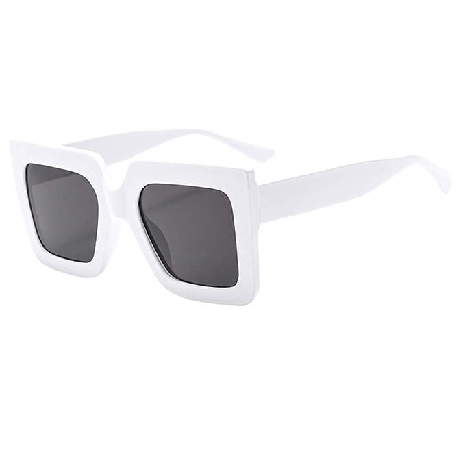 mujeres hombres Vintage Gafas de sol playa fiesta UV400 ...