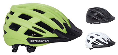 Specifix Cycling Bicycle CPSC Certified Adjustable Bike Safety Adult Helmet with Removable Visor - Great for Road and Mountain Biking - MTB - Provides an excellent fit for both Men and Women.