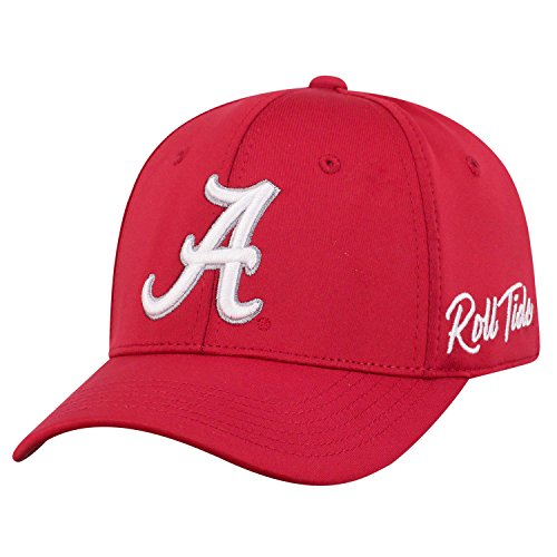 Top of the World Alabama Crimson Tide Men's Fitted Hat Icon, Maroon, One Fit, Adjustable