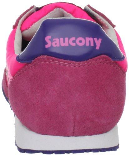 Saucony Bullet Damen Rosa Rund Textile Laufschuhe Neu EU 37,5