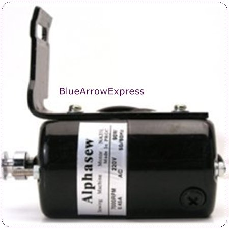 Universal Sewing Machine Motor L Type 110V w / Bracket NA35L