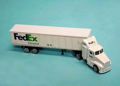 Daron FedEx Ground Tractor - Tractor White Trailer