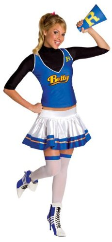 [Archie Comics Betty Costume - Womens X-Small] (Betty Archie Comics Halloween Costume)