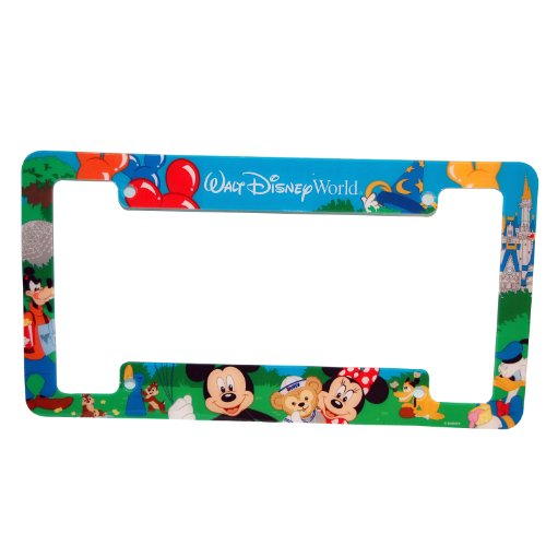 amazoncom walt disney world car license plate frame automotive - Disney Picture Frames