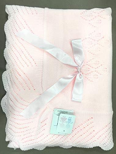 Toquilla para bebé de punto en color rosa: Amazon.es: Bebé