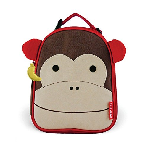 Skip Hop Zoo Insulated Lunch Bag, Marshall Monkey Monkey Lunch