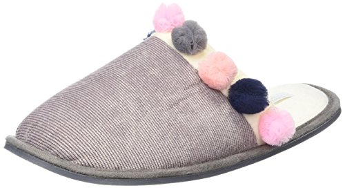 Carvela WoMen Sana Mini Pom Open Back Slippers Beige (Taupe)