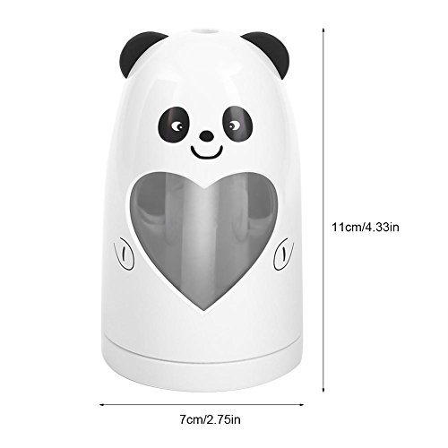 Mist Humidifier Ultrasonic USB Portable Air Humidifiers Purifier for Cars Office Desk Home Babies kids Bedroom 180ML Mini Desktop Cup Humidifier(Panda) by YosooXX (Image #1)