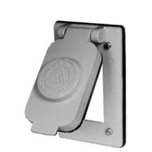 Appleton FSK-WGF1 Cover for GFI, NEMA 3R, 1 Gang, CF Aluminum