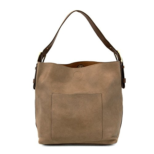 Classic Handle Flax Handbag Joy Susan Brown Hobo Dark gqxF7H