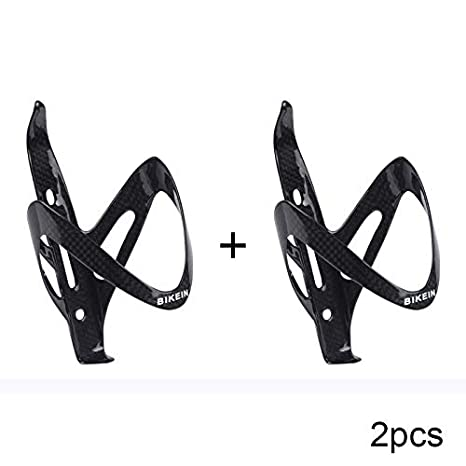 2pcs Full Carbon Bottle Cage Water Holder Road Bicycle MTB 3k glossy