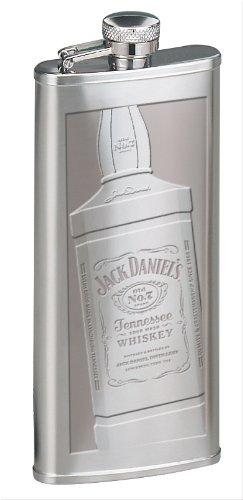 (Jack Daniel's Licensed Barware Boot Flask Bottle )