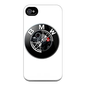 Iphone 4/4s Case Slim [ultra Fit] Bmw Logo Protective Case Cover
