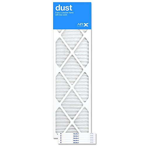 AIRx Filters Dust 10x36x1 Air Filter MERV 8 AC Furnace Pleated Air Filter Replacement Box of 6, Made in the USA by AIRx Filters