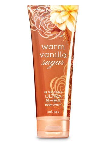 Bath Body Works Warm Vanilla Sugar 8.0 oz Ultra Shea Cream 3 Pack