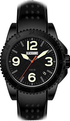 BLACKHAWK! Advanced Field Operator Watch with Black Cas