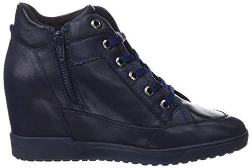 Carum C4002 navy Zapatillas C Geox Para Mujer D Altas B5Cwxnvq