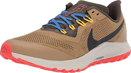 Nike Air Zoom Pegasus 36 Trail Men's Trail Running Shoe BEECHTREE/Off Noir-Cargo Khaki Size 10.5
