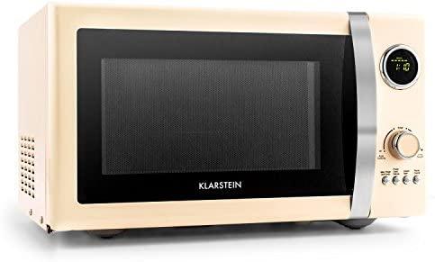 Klarstein Fine dinesty Retro horno microondas con función grill ...