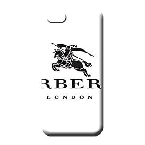 iphone 6plus Eco Package Plastic Snap On Hard Cases Covers phone case skin Burberry famous top?brand logo