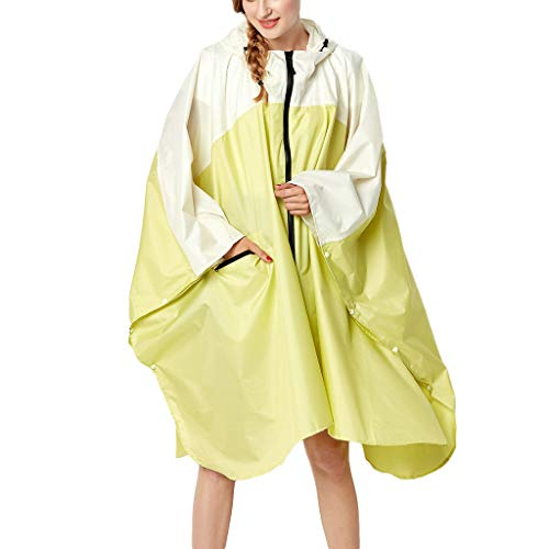 HYIRI Special Windproof Coat Women's Point Rain Jacket Outdoor Hoodie Waterproof Outwear