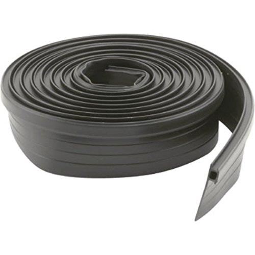 Black Vinyl Adjustable Width Strip