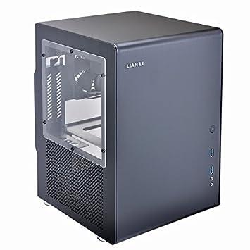 Lian Li PC-Q33WB Mini-Tower Negro Carcasa de Ordenador ...