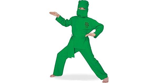 Amazon.com: Unbekannt – Disfraz de ninja verde juego de 2 ...