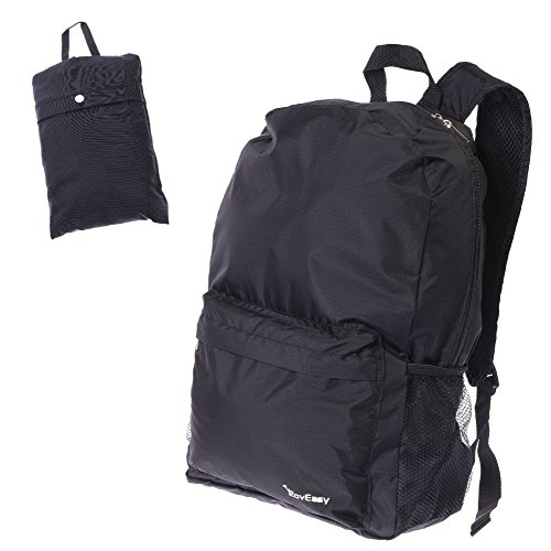 [Lightweight Foldable Packable Travel Backpack, Durable Ultralight Hiking Daypack] (Packable Expandable Bags Travel Accessories)